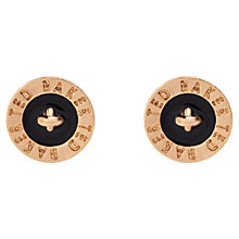 Buy Ted Baker Tempany Enamel Logo Stud Earrings Online at johnlewis.com