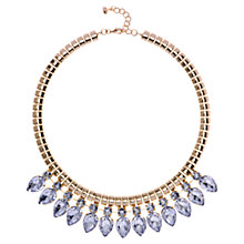 Buy Ted Baker Emari Crystal Chain Necklace, Clear Online at johnlewis.com