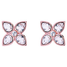 Buy Ted Baker Gem Flower Stud Swarovski Crystal Earrings Online at johnlewis.com