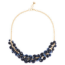 Buy Ted Baker Crisbel Glass Crystal Bead Plated Cluster Necklace Online at johnlewis.com