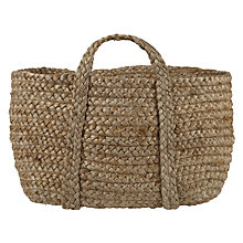 Buy John Lewis Croft Collection Hemp Braid Shopper Online at johnlewis.com