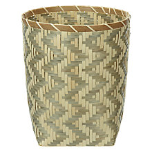 Buy John Lewis Chevron Wastepaper Bin Online at johnlewis.com