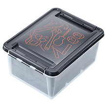 Buy Orthex SmartStore Deco Plastic DIY Box with Inserts Online at johnlewis.com