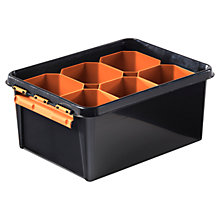 Buy Orthex SmartStore Robust Plastic Tool Box with Inserts Online at johnlewis.com