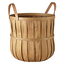Buy John Lewis Croft Collection Chip Wood Basket Online at johnlewis.com