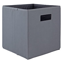 Buy House by John Lewis Folding Fabric Storage Box Online at johnlewis.com