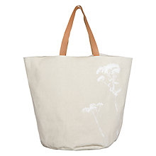 Buy John Lewis Croft Collection Dandelion Print Laundry Bag Online at johnlewis.com