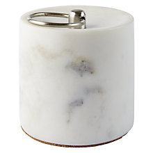 Buy John Lewis Marble and Brass Doorstop Online at johnlewis.com