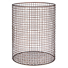 Buy John Lewis Antique Copper Wastepaper Basket Online at johnlewis.com