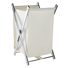 Buy John Lewis Folding Laundry Hamper Online at johnlewis.com