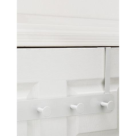 Buy john lewis over the door hanging rack 4 hook john lewis for John lewis design service