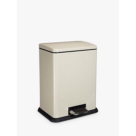 buy john lewis 2 section recycling bin cream 2 x 20l. Black Bedroom Furniture Sets. Home Design Ideas