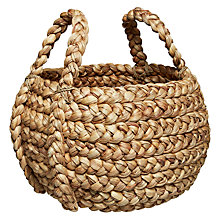 Buy John Lewis Large Plaited Basket Online at johnlewis.com