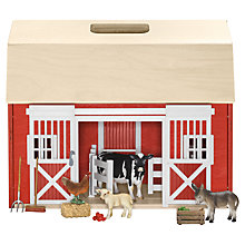 Buy Schleich Farm Life: Barn & Animals Online at johnlewis.com