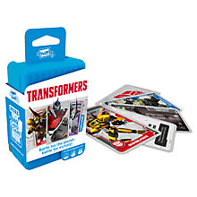 Buy Transformers Shuffle Card Game Online at johnlewis.com