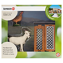 Buy Schleich Farm Life: Goat & Hen Online at johnlewis.com