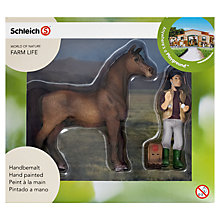 Buy Schleich Farm Life: Arabian Stallion & Vet Online at johnlewis.com