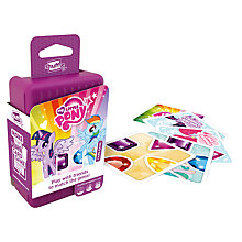 Buy My Little Pony Shuffle Card Game Online at johnlewis.com
