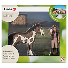 Buy Schleich Farm Life: Pinto Foal & Handler Online at johnlewis.com