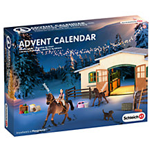 Buy Schleich Christmas With Horses Advent Calendar Online at johnlewis.com