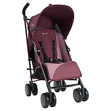 Buy Silver Cross Pop Stroller, Aubergine Online at johnlewis.com