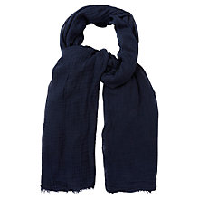Buy White Stuff Dreaming Away Scarf, Navy Online at johnlewis.com