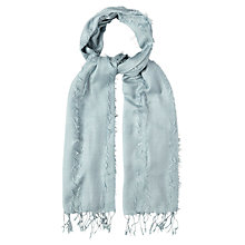 Buy White Stuff Fiona Scarf, Blue Mist Online at johnlewis.com