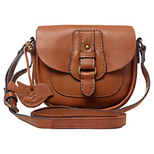 Buy White Stuff Mollie Saddle Bag, Tan Online at johnlewis.com