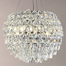 Buy John Lewis Alexa Crystal Grande Pendant Ceiling Light Online at johnlewis.com