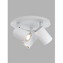 Buy Astro Ascola 3 Plate Spotlights, White Online at johnlewis.com