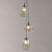 Buy John Lewis Croft Rafe 3 Cluster Ceiling Light Online at johnlewis.com