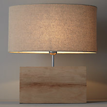 Buy John Lewis Croft Collection Ridley Oak Table Lamp Online at johnlewis.com