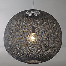 Buy John Lewis Granville Grey String Pendant Light Online at johnlewis.com