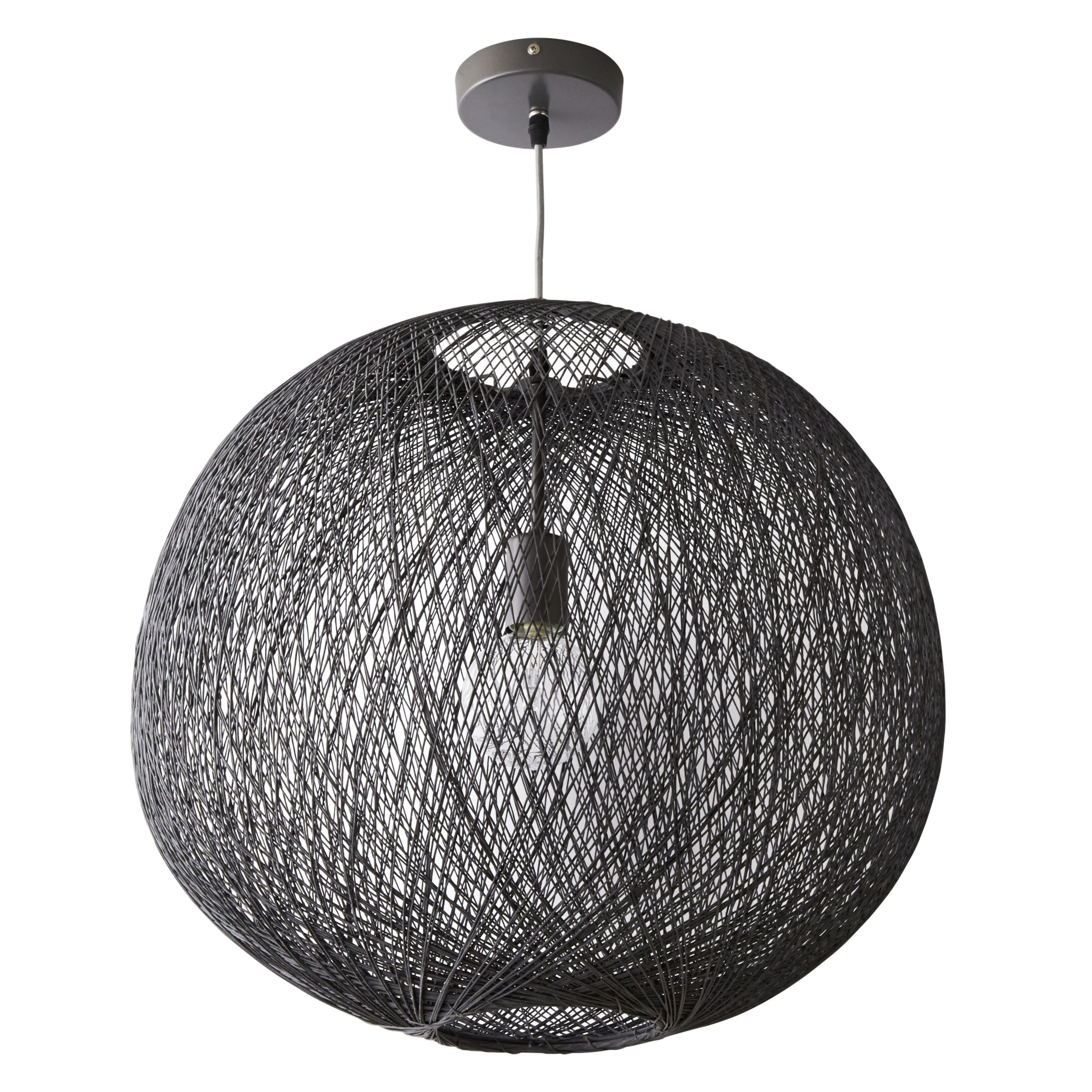 Buy John Lewis Granville Grey String Pendant Light John Lewis