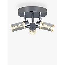 Buy John Lewis Giovanni Bubbles 3 LED Bathroom Spotlight Online at johnlewis.com