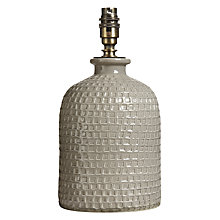 Buy John Lewis Croft Rowan Small Lamp Base, Taupe Online at johnlewis.com