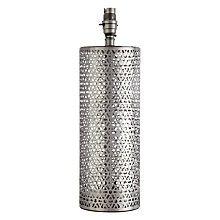 Buy John Lewis Eila Cutwork Lamp Base Online at johnlewis.com