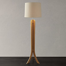 Buy John Lewis Betty Oak Floor Lamp Online at johnlewis.com