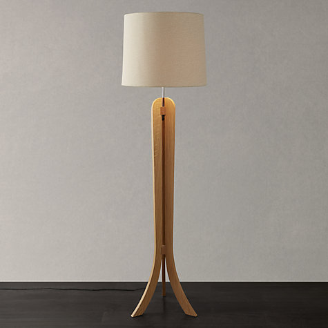 buy john lewis betty oak floor lamp john lewis. Black Bedroom Furniture Sets. Home Design Ideas