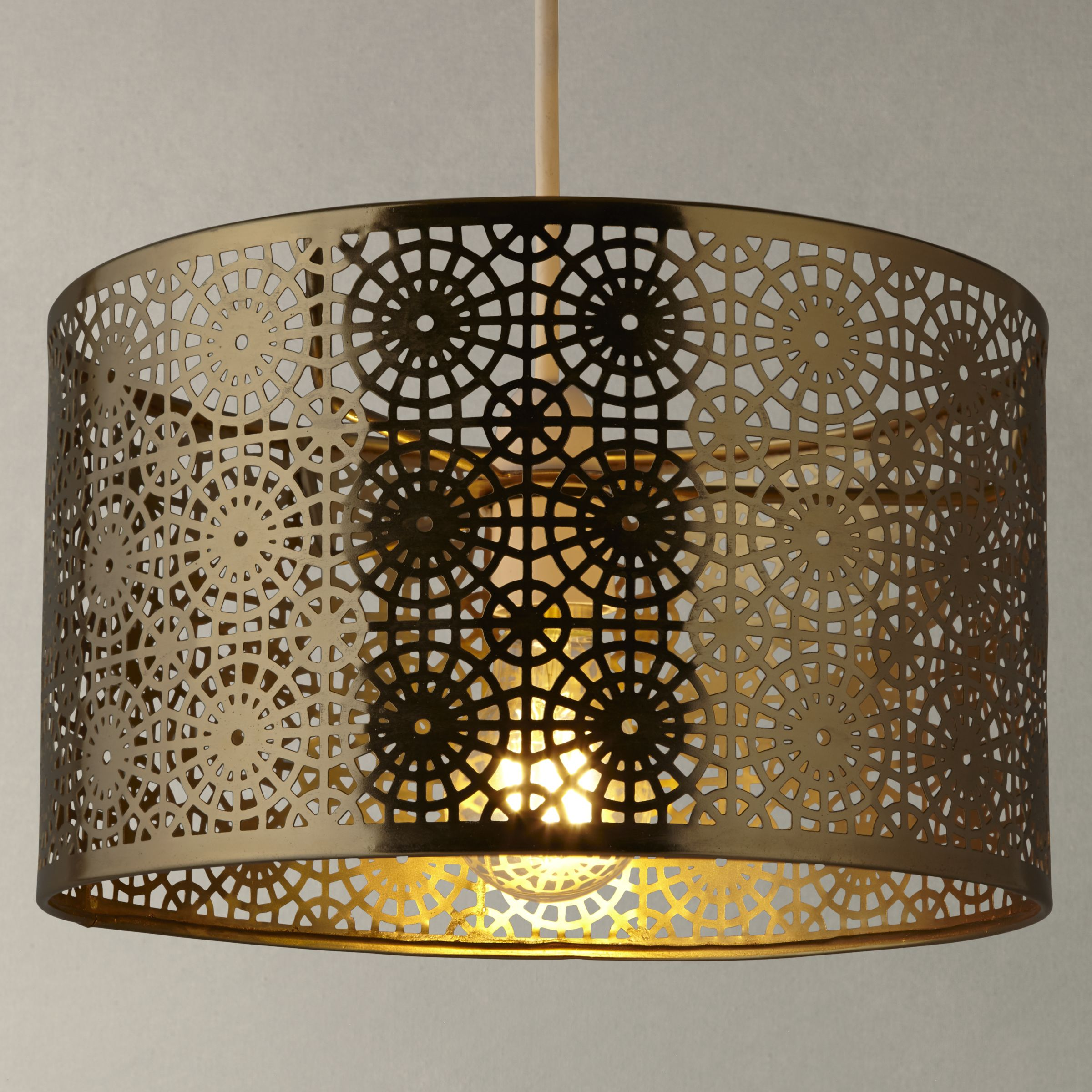 John Lewis Wall Lamp Shades : Buy John Lewis Eila Cutwork Shade John Lewis