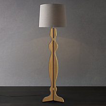 Buy John Lewis Sally Oak Floor Lamp Online at johnlewis.com