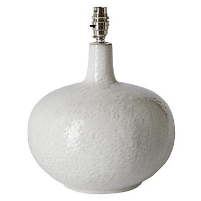 John Lewis Hannah Dimple Ceramic Lamp Base