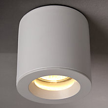 Buy Astro Kos Mounted Bathroom Spotlight, White Online at johnlewis.com