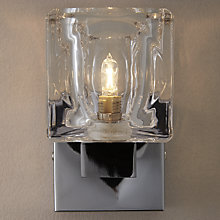 Buy John Lewis Cuboid Single Wall Light Online at johnlewis.com