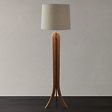 Buy John Lewis Betty Walnut Floor Lamp Online at johnlewis.com