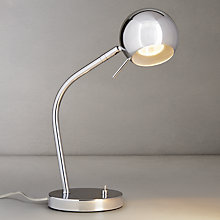 Buy John Lewis Luke Chrome Task Lamp Online at johnlewis.com