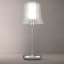 Buy John Lewis Marilyn Glass Layer Touch Lamp Online at johnlewis.com