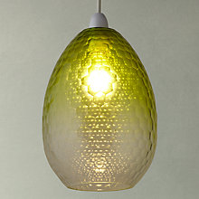 Buy John Lewis Farrah Glass Easy-to-Fit Shade Online at johnlewis.com