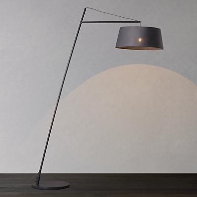 John Lewis Grayson Reach Floor Lamp, Grey