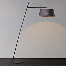 Buy John Lewis Greyson Reach Floor Lamp, Grey Online at johnlewis.com
